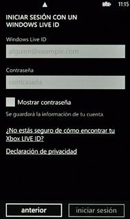 cómo activar la cuenta windows live en tu celular nokia lumia 610