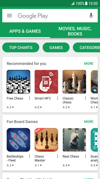 Slide your finger right starting from the left side of the screen.