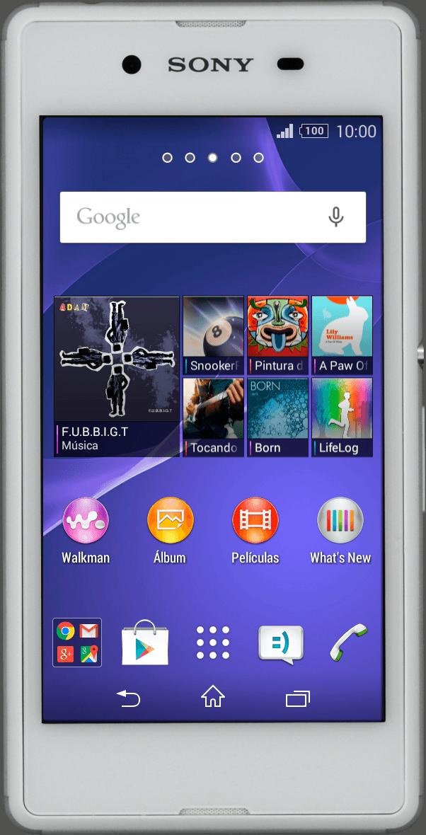 Búsqueda de un dispositivo perdido mediante el Administrador de dispositivos Android™