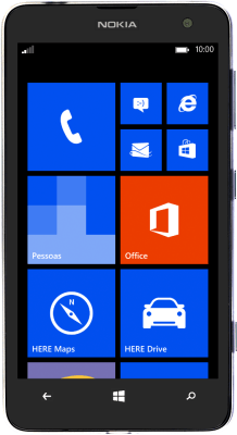 Nokia Lumia 625 (Windows Phone 8.0)