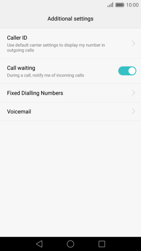 how to turn on call waiting on iphone