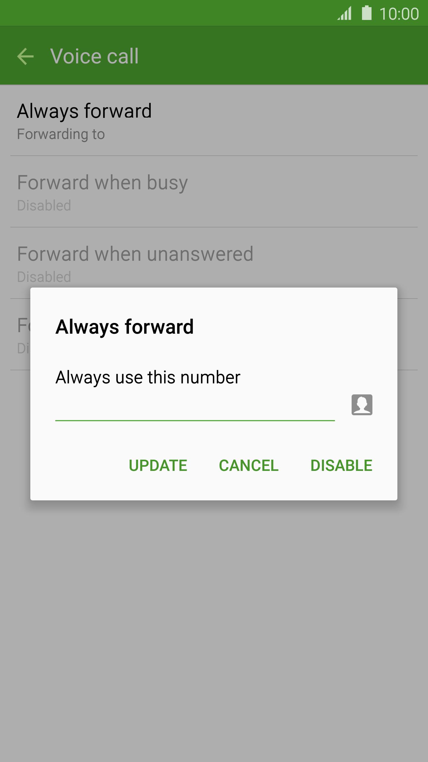 virgin mobile call forwarding
