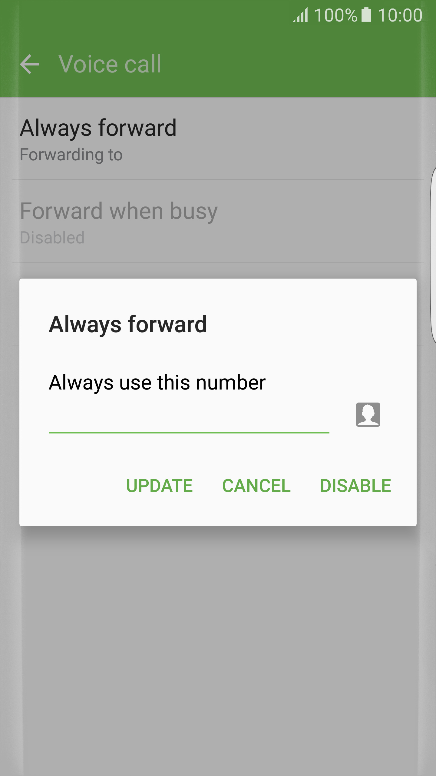 how to turn off call divert on telstra mobile