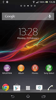 Sony xperia z clear browser data press the home icon to return to standby mode ccuart Gallery