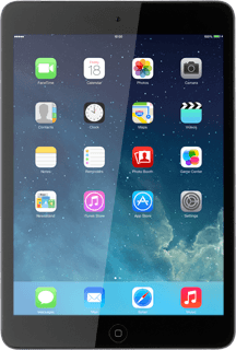 Apple iPad mini iOS 7
