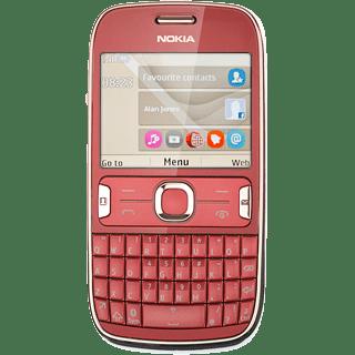 Nokia Asha 302 - View SIM lock status | Vodafone UK