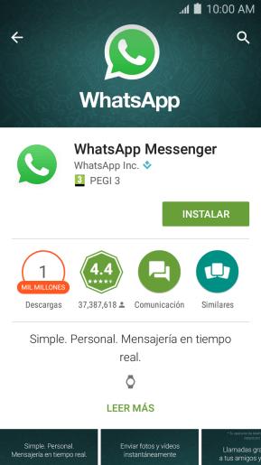 Cómo Instalar Whatsapp En El Celular Samsung Galaxy J7 Soporte