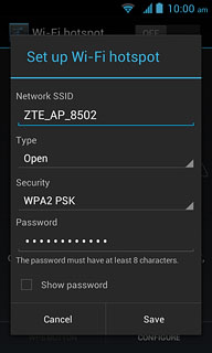 Set up and use your phone as a Wi-Fi hotspot - Telstra Dave