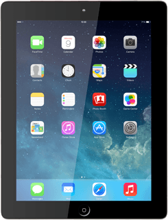 Update tablet software - Apple iPad 4 (iOS7) - Telstra