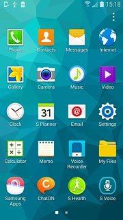 Set an alarm - Samsung Galaxy S5 - Telstra