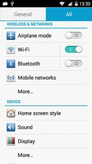 Set up and use your phone as a Wi-Fi hotspot - Huawei Ascend Y530
