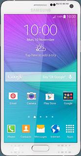 Select network mode - Samsung Galaxy Note 4 - Telstra