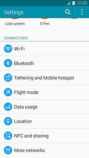 Select network mode - Samsung Galaxy Note 4 - Telstra