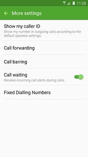 Hiding caller id on samsung s6