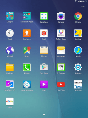 Set up your tablet for email - Samsung Galaxy Tab A 8 0