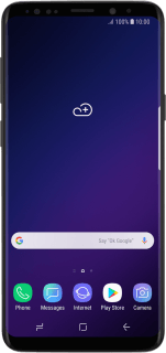 Samsung Galaxy S9 (Android 8.0)
