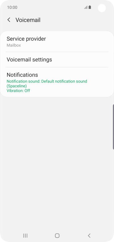 Save voicemail number on your Samsung Galaxy S10 Android 9 0