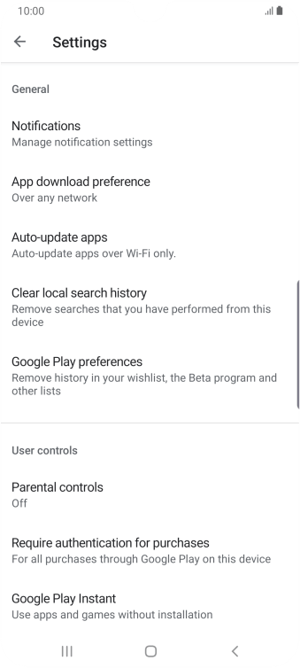 Press Auto-update apps.