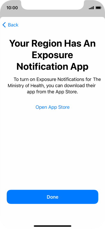 Press Open App Store and follow the instructions on the screen to download and install the app.