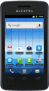 Alcatel ONE TOUCH T'Pop 4010