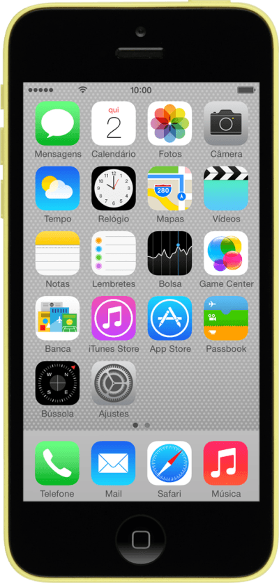 celular Apple iPhone 5c