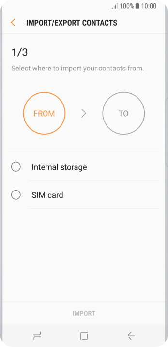 Press SIM card.