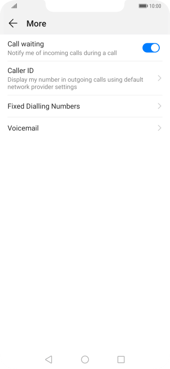 Press Voicemail.