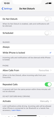 No ring tone is heard on incoming calls - Apple iPhone XR (iOS 12 0