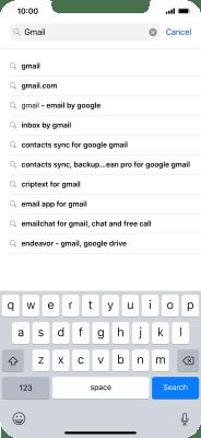 Install Gmail - Apple iPhone Xs Max (iOS 12 0) - Telstra
