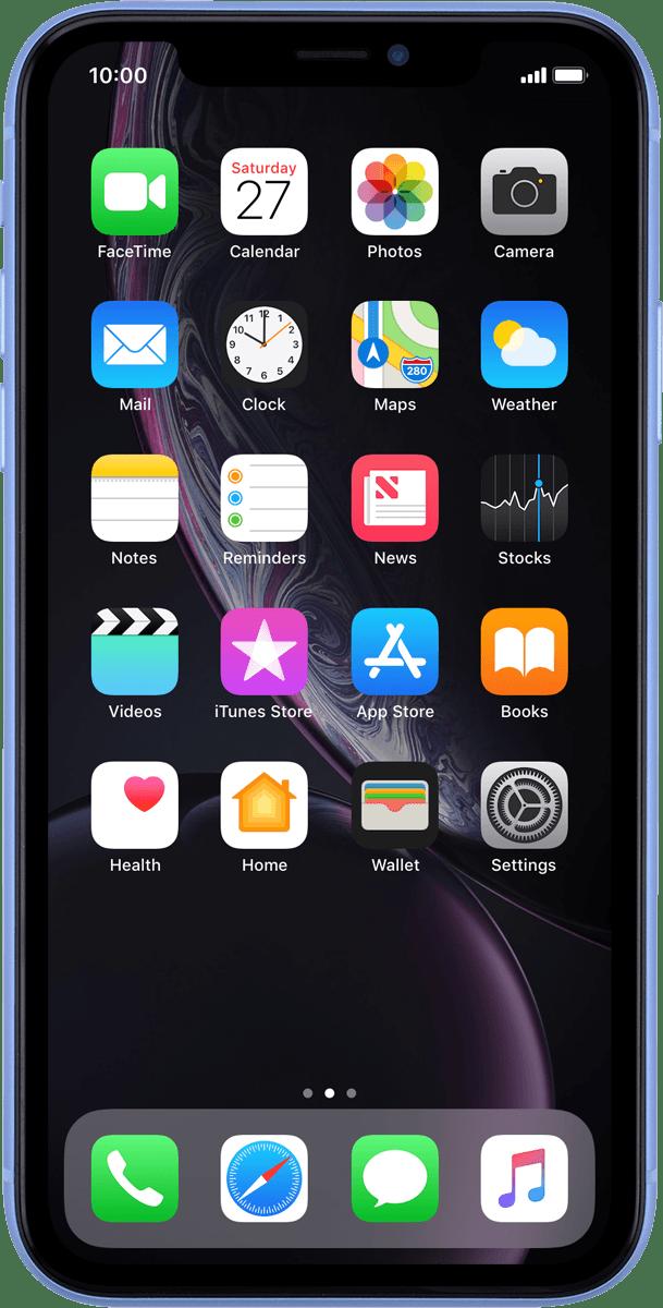 View network lock status - Apple iPhone XR (iOS 12 0) - Telstra