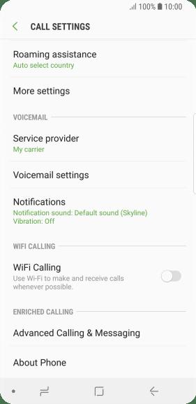 Samsung Galaxy S9 - Turn call barring on or off - Safaricom