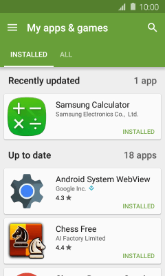 I can't install an app - Samsung Galaxy J1 (Android 5 1 1) - Telstra