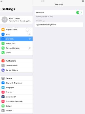pair apple keyboard from login screen