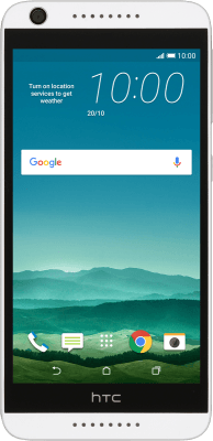 Set up your phone for text messaging - HTC Desire 626 (Android 5 1