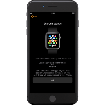 Activate your Apple Watch - Apple Watch Series 3 (watchOS 4