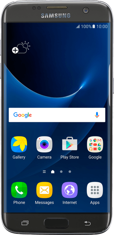 Samsung Galaxy S7 edge - Black