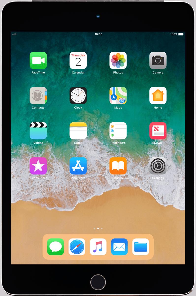 How to do a screenshot on ipad mini 4