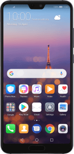 List of screen icons on your Huawei P20 Pro Android 8 1