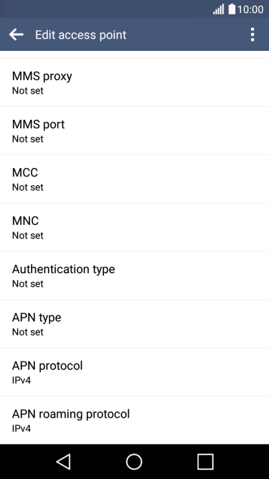 Set up your LG K8 4G Android 6 0 for MMS - K8 4G (Android