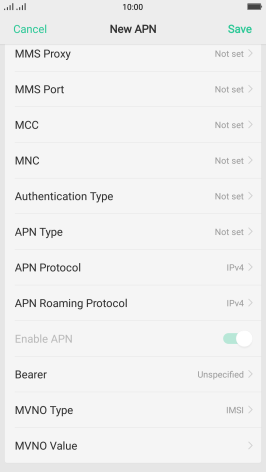 Set up your OPPO R11 Android 7 1 for internet - R11 (Android