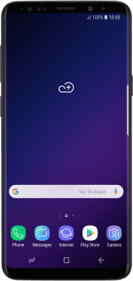 List of screen icons on your Samsung Galaxy S9 Android 8 0