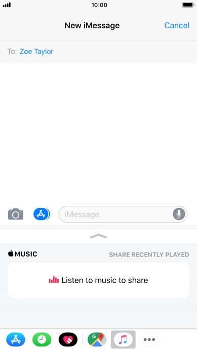 Write And Send Imessage On Your Apple Iphone 8 Plus Ios 110