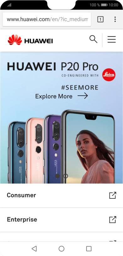 Clear browser data on your Huawei P20 Android 8 1 - P20