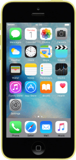 Apple iPhone 5c (iOS 9.0)