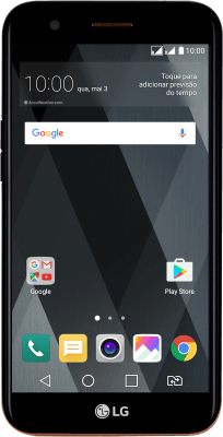 LG K10 (2017) Duos (Android 7.0)