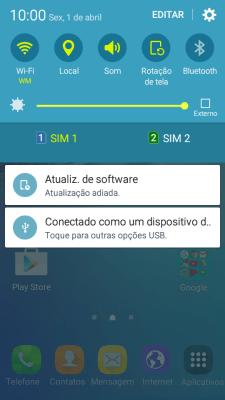Atualize o software do aparelho - Oi