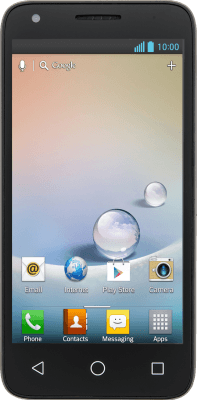 Alcatel Pixi 3 (4.5) Duos (Android 4.4.2)