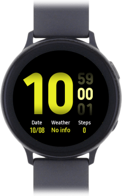Samsung Galaxy Watch Active2 - Black
