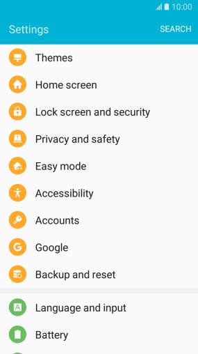 Samsung Galaxy J5 (2016) - Delete email account - Safaricom