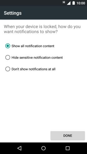 Motorola Moto G (3rd gen) - XT1541 - The phone lock code is